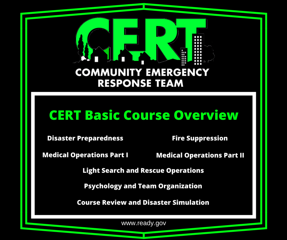 CERT Basic Course