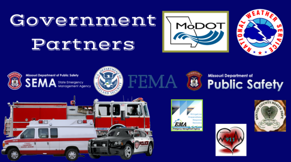 Government Partners Benton County Mo Emergency Management